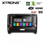 "7"" Android 7.1 Quad Core 16GB + DDR3 2G RAM HD Digital Touch Screen HDMI Car DVD Player Costom fit for Audi TT MK2"