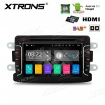 "7""Android 7.1 Quad Core 16GB ROM + 2G RAM HD Digital Touch screen HDMI Car DVD Player Costom Fit for Dacia & Renault"