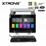 """7"""" Android 7.1 Quad core 16GB ROM + 2GB DDR3 RAM HD Digital Touch Screen HDMI Car Stereo Custom Fit for Land Rover"""