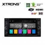 """6.95"""" Android 7.1 Quad Core 16GB ROM + 2G RAM HD Digital Touch screen HDMI Car DVD Player Costom Fit for Toyota"""