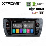 """7""""Android 7.1 Quad Core 16GB ROM + 2G RAM HD Digital Touch screen HDMI Car DVD Player Costom Fit for SEAT Ibiza"""