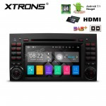 """7""""Android 7.1 Quad Core 16GB ROM + 2G RAM HD Digital Touch screen HDMI Car DVD Player Costom Fit for Mercedes-Bens"""