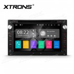 """7"""" Android 7.1 Quad Core 16GB + DDR3 2G RAM HD Digital Touch Screen HDMI Car DVD Player Costom fit for Volkswagen / Seat / Skoda"""