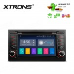 "7""Android 9.0 car stereo infotainment system for Audi with DVD Player Support car auto play with Full RCA Output"