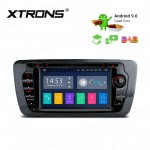 "7""Android 9.0 car stereo infotainment system for Seat with DVD Player Support car auto play with Full RCA Output"
