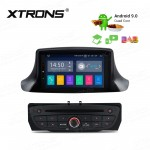 "7""Android 9.0 car stereo infotainment system for Renault with DVD Player Support car auto play with Full RCA Output"