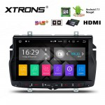 "8"" HDMI Android 7.1 Quad Core 16GB ROM + 2G RAM GPS Navigator Car Stereo Costom Fit for Lada"