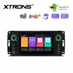 """6.2"""" Android 9.0 Octa-Core 32GB ROM + 4G RAM Multimedia DVD Player Custom fit for JEEP / DODGE / Chrysler"""