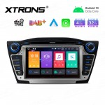 "7"" Android 10.0 Octa-Core 32GB ROM + 4G RAM Car Multimedia DVD Player with GPS Support CarAutoPlay Custom fit for Hyundai"