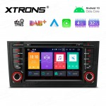 "7"" Android 10.0 Octa-Core 32GB ROM + 4G RAM Car Multimedia DVD Player with GPS Support CarAutoPlay Custom fit for Audi"