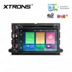 """7"""" HD Digital Octa-Core 64bit 32GB ROM + 2G RAM Android 6.0 Multi Touch Screen Car DVD Player Custom Fit for  Ford"""