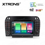 """7"""" HD Digital Octa-Core 64bit 32GB + 2G RAM Android 6.0 Multi Touch Screen Car DVD Player Custom Fit for Mercedes-Benz W220"""