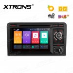 "7"" Android 8.0 Octa-Core 32GB ROM + 4G RAM Multimedia DVD Player Custom fit for Audi A3 / S3 / RS3"