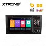 "7"" Android 8.0 Octa-Core 32GB ROM + 4G RAM Multimedia DVD Player Custom fit for Audi A4 / S4 / RS4 / SEAT Exeo"
