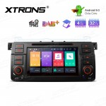 "7"" Android 9.0 Octa-Core 32GB ROM + 4G RAM Car Multimedia Stereo with GPS support car auto play Custom fit for BMW / ROVER / MG"