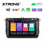 "8"" Android 10.0 Octa-Core 32GB ROM + 4G RAM Car Multimedia DVD Player with GPS Support CarAutoPlay Custom fit for VW/SKODA/SEAT"