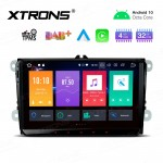 "9"" Android 10.0 Octa-Core 32GB ROM + 4G RAM Car Stereo Multimedia GPS System Support CarAutoPlay Custom fit for VW/SKODA/SEAT"