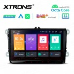 Android 10.0 Octa Core(64bit) 9'' Car Stereo Multimedia Navigation System Built-in CarAutoPlay & Android Auto Custom Fit for Volkswagen / Seat / Skoda