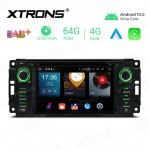 6.2 inch Android 10.0 Octa-Core 64G ROM + 4G RAM Car Multimedia GPS DVD Player Custom fit for Jeep / DODGE / Chrysler