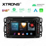 7 inch Android 10.0 Octa-Core 64G ROM + 4G RAM Car Multimedia GPS DVD Player Custom fit for Chevrolet / Buick / GMC / HUMMER