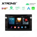 7 inch Android 10.0 Octa-Core 64G ROM + 4G RAM Car Multimedia GPS DVD Player Custom fit for VW/Skoda/Seat
