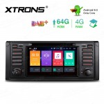7 inch Android 9.0 Octa-Core 64GB ROM + 4G RAM Car DVD Player Multimedia GPS System support CarAutoPlay Custom fit for BMW