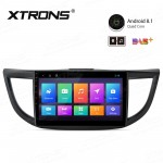 "10.1"" Android 8.1 with Full RCA Output In-Dash GPS Navigation Multimedia System Custom Fit for Honda"