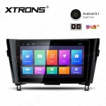 "10.1"" Android 8.1 with Full RCA Output In-Dash GPS Navigation Multimedia System Custom Fit for NISSAN"