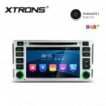 "6.2"" Android 8.1 with Full RCA Output In-Dash GPS Navigation Multimedia System Custom Fit for Hyundai"
