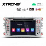 7 inch Android 10.0 Car DVD GPS Navigation Multimedia Player with Full RCA Output Custom Fit for Ford