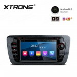 "7"" Android 8.1 with Full RCA Output In-Dash GPS Navigation Multimedia System Custom Fit for Seat"
