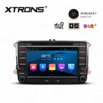 "7"" Android 8.1 with Full RCA Output In-Dash GPS Navigation Multimedia System Custom Fit for Volkswagen/SEAT/SKODA"