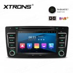 "7"" Android 8.1 with Full RCA Output In-Dash GPS Navigation Multimedia System Custom Fit for Skoda"