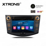 "7"" Android 8.1 with Full RCA Output In-Dash GPS Navigation Multimedia System Custom Fit for Toyota"