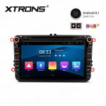 "8"" Android 8.1 with Full RCA Output In-Dash GPS Navigation Multimedia System Custom Fit for Volkswagen/SEAT/SKODA"