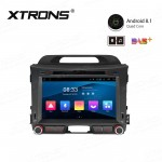 "8"" Android 8.1 with Full RCA Output In-Dash GPS Navigation Multimedia System Custom Fit for KIA"