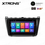 "9"" Android 8.1 with Full RCA Output In-Dash GPS Navigation Multimedia System Custom Fit for Mazda"