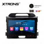 "9"" Android 8.1 with Full RCA Output In-Dash GPS Navigation Multimedia System Custom Fit for KIA"