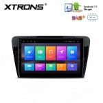 "10.1"" Android 7.1 Multimedia System Car Stereo with Full RCA Output Custom Fit for SKODA"