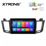 "10.1"" Android 7.1 Multimedia System Car Stereo with Full RCA Output Custom Fit for Toyota"