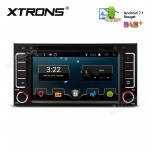 """6.2"""" Android 7.1 Nougat Quad core 16GB ROM HD Digital Multi Touch Screen Car DVD Player with Full RCA Output Custom Fit for Subaru"""