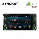 """6.2"""" Android 7.1 Nougat Quad core 16GB ROM HD Digital Multi Touch Screen Car DVD Player Custom Fit for Toyota"""