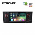 "6.1"" HD Digital Android 7.1 Nougat Quad core 16GB ROM Multi Touch Screen Car Stereo Custom Fit for FIAT"