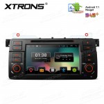 """7"""" Android 7.1 Nougat Quad core 16GB ROM + 1GB DDR3 RAM HD Digital Multi Touch Screen Car DVD Player Custom Fit for BMW/Rover/MG"""