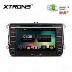 """7"""" Android 7.1 Nougat Quad core 16GB ROM HD Digital Multi Touch Screen Car DVD Player Custom Fit for Volkswagen/SEAT/SKODA"""