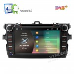 "8"" Android 6.0 Marshmallow HD Digital Multi-touch Screen 1080P Video Car DVD Player Custom Fit for Toyota corolla"