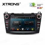 """8"""" Android 7.1 Nougat Quad core 16GB ROM HD Digital Multi Touch Screen Car DVD Player Custom Fit for Mazda 3"""