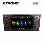 """7""""HD Digital Touch screen Dual CANbus GPS Navigator Car DVD Player with screen mirroring function Built-in DAB + Tuner custom Fit for BMW 3 Series"""