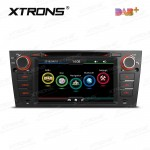"7""HD Digital Touch screen Dual CANbus GPS Navigator Car DVD Player with screen mirroring function Built-in DAB + Tuner custom Fit for BMW 3 Series"
