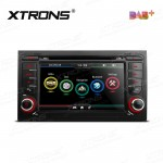 "7""HD Digital Touch screen Built-in DAB + Tuner custom Fit for Audi A4 / S4 / RS4"
